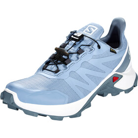 Salomon Supercross GTX Kengät Naiset, forever blue/white/flint stone
